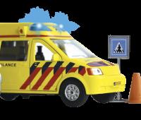 Ambulance met 2 broeders 2