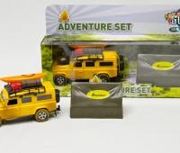 Avonturenset met Land Rover en tent 1