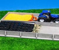 Dubbele sleufsilo betonlook 1