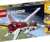 Futuristisch vliegtuig 1