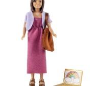 Vrouw met tas en laptop 1