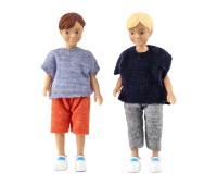 Poppenset van twee jongens  1