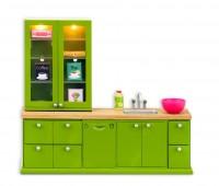 Keuken met wasbak en vaatwasser 1