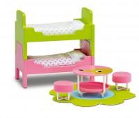 Kinderkamer met stapelbed 1