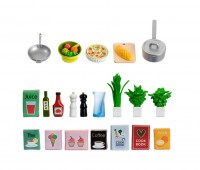Set met keukenaccessoires 1