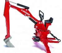 A.Moser graafmachine voor achteraanbouw tractor 1