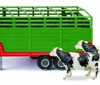 Veetrailer met 2 koeien 1