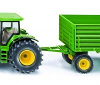 John Deere tractor met kipper 1