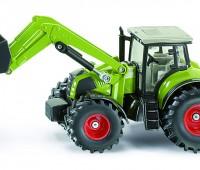 Claas Axion 850 tractor met voorlader 1