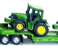 Dieplader met John Deere tractoren 1