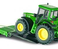 Dieplader met John Deere tractoren 2