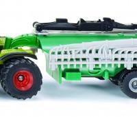 Claas Xerion tractor met samson mesttank 1