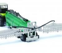 Claas Xerion tractor met samson mesttank 2
