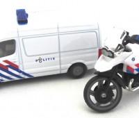 Politieset NL met busje en motor 1