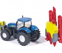 New Holland tractor met veldspuit 3