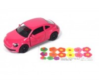 VW The Beetle pink 3