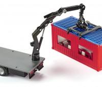 Mercedes-Benz vrachtwagen met bouwcontainer 2