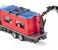 Mercedes-Benz vrachtwagen met bouwcontainer 3