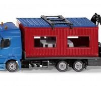 Mercedes-Benz vrachtwagen met bouwcontainer 1