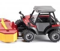 Aebi TerraTrac Tractor met frontmaaier 1