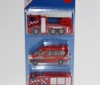 Brandweerset NL met ladderwagen, busje en brandweerwagen 1