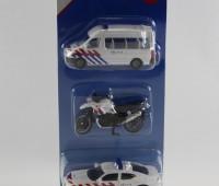 Politieset NL met busje, motor en auto 1
