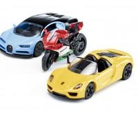 Set van 2 sportenwagens en 1 motor 2