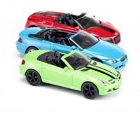 Set van 3 cabrio sportwagens 2