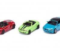 Set van 3 cabrio sportwagens 1