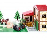 Paardenstal met Fendt tractor 1