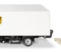 MAN vrachtwagen van UPS met laadklep en accessoires 1