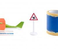 Watervliegtuig met tape 2