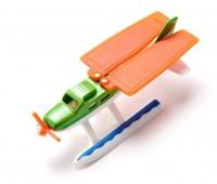Watervliegtuig met tape 3