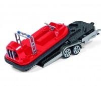 Auto met aanhanger en Hovercraft 2