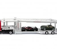 Autotransportwagen met twee autos 1