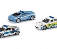 Set van 3 politieautos  1