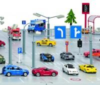Siku straatverlichting en verkeersborden 2