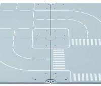 Grondplaten met 2 bochten en 2 kruisingen 1