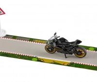 Ducati Panigale 1299 met tape en verkeersbord 2