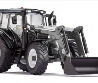 Valtra N123 tractor met voorlader 1