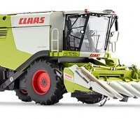 Claas Lexion 760 met Conspeed maiskolvenplukker 1