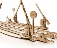 Spoorwegovergang + 4m rails modelbouw 1