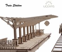 Treinstation modelbouw  1