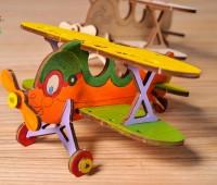U-kids Tweedekker Vliegtuig 1