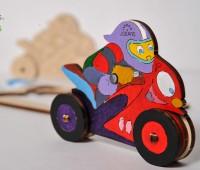 U-kids Motorrijder 1