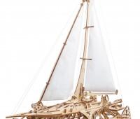 Trimaran Merihobus modelbouw 1