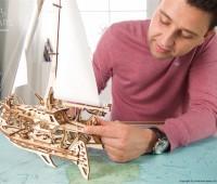 Trimaran Merihobus modelbouw 2
