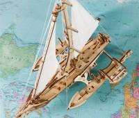 Trimaran Merihobus modelbouw 3