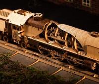 V-Express Stoomtrein modelbouw 2