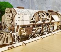 V-Express Stoomtrein modelbouw 3